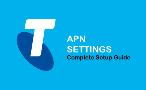 telstra apn settings