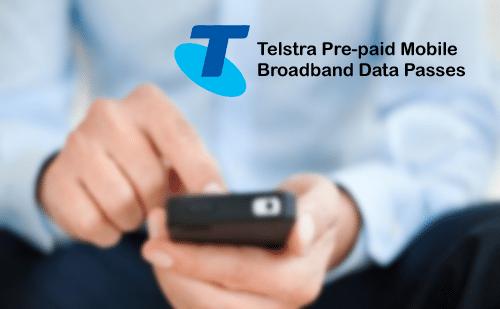telstra mobile broadband data plans