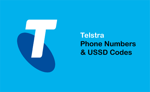 telstra phone numbers ussd codes