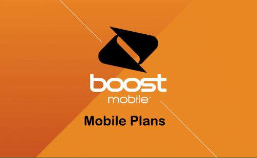 boost mobile prepaid plans