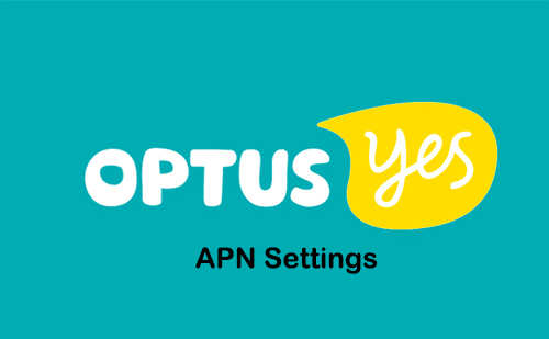 yes optus apn settings