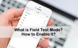 field test mode