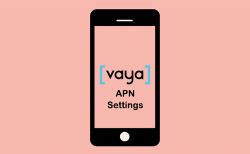 vaya apn settings