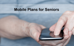 mobile phone plans for seniors