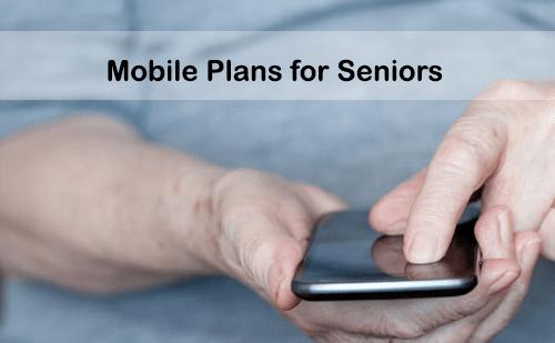 mobile phone plans for seniors
