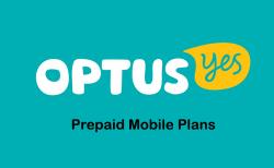 optus prepaid mobile phone plans