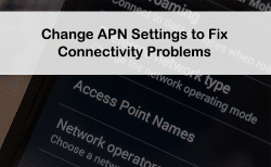 fix apn settings