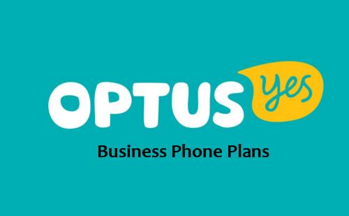 optus business phone plans