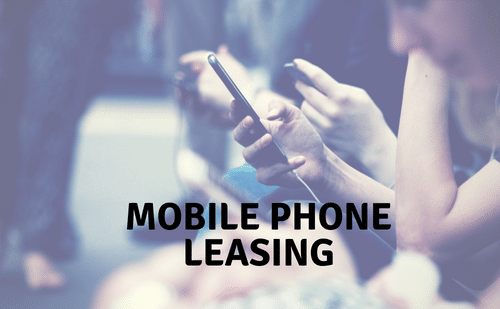 mobile phone leasing