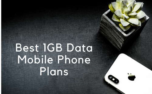 1gb data mobile phone plans