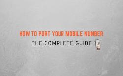 port mobile number